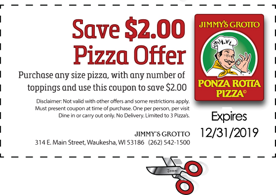 grotto pizza coupons